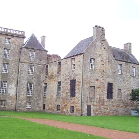 kinneil House looking NE