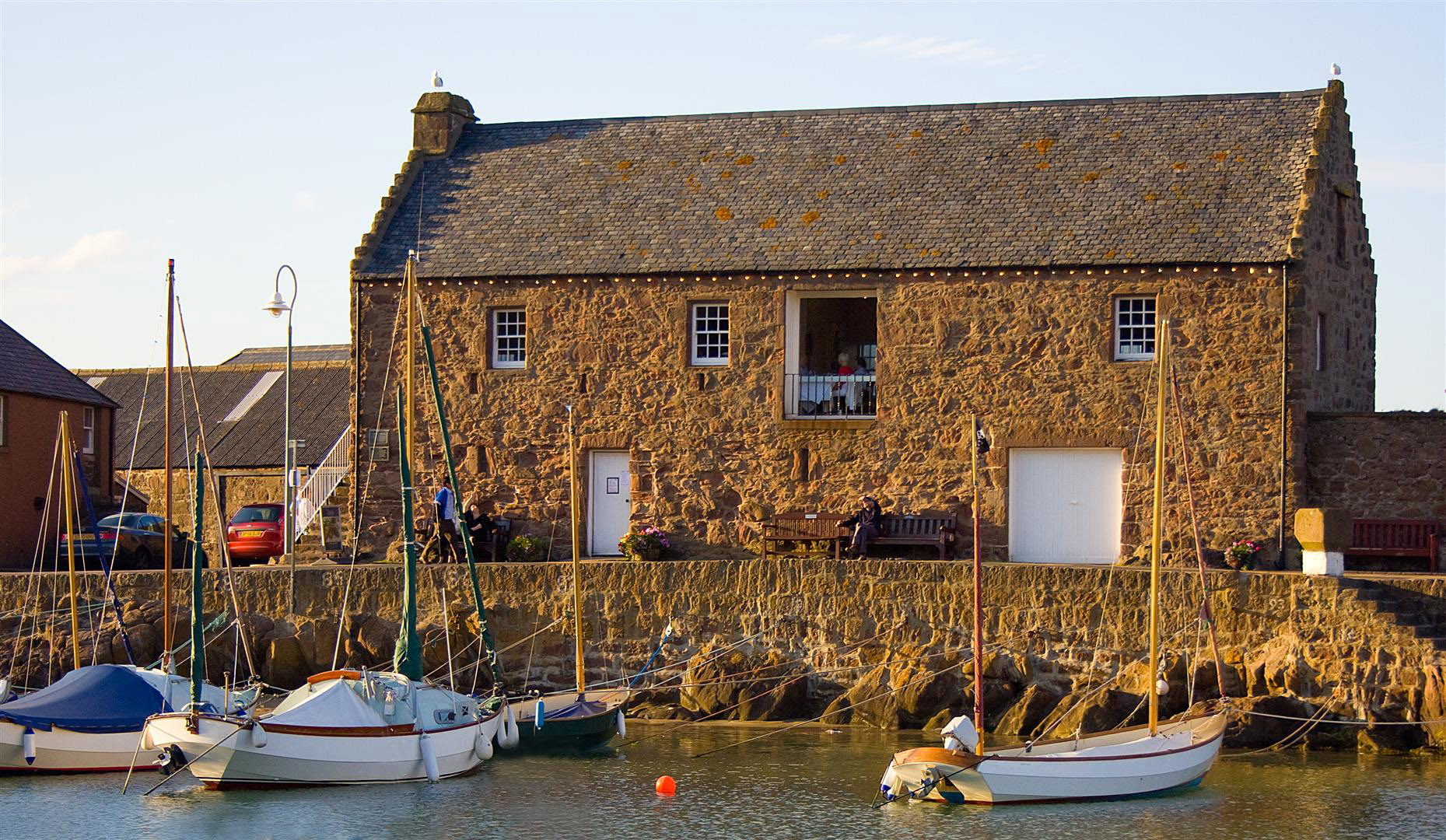 Exhibition Booth Open : Stonehaven harbour tolbooth museum and marine scotland
