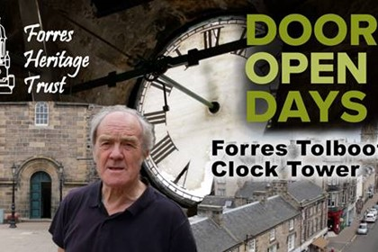 Forres Tolbooth Clock Tower Tour